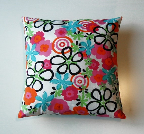 SALE mod gone wild pillow