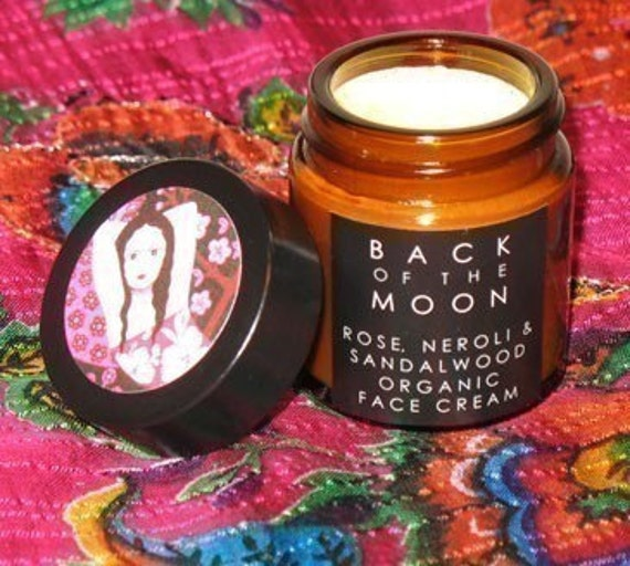 Rose, Neroli and Sandalwood Organic Face Cream with Rosehip and Evening Primrose Oil