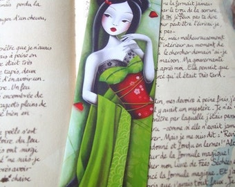 Bookmark miss coquelicot