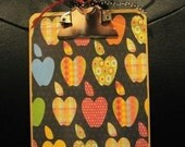 Fun and Funky Apple for the Teacher...Altered Clipboard