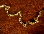 24in Gold Roll Chain