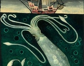 G is for Giant Squid