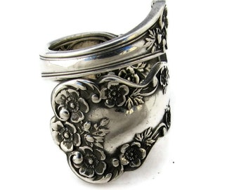 Sterling Silver Spoon Ring Buttercup Medium