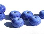 Prama Violet Fritties Handmade Lampwork bead set