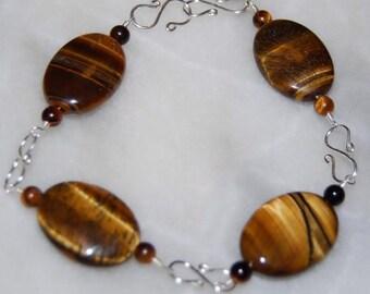 Oval Tigereye Bracelet