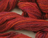 Sweet Sangria- Handspun Yarn