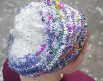 Knitting Pattern- Sparklehorse Slouch Hat- PDF download