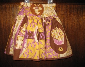 Cupcake Fairy and Teacup Twirl skirt, Last one, SIZE 3, Ready to ship