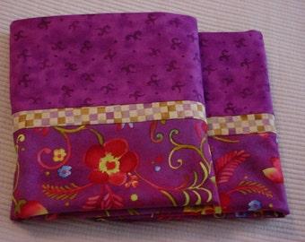 Pompeii Pillowcase in purple