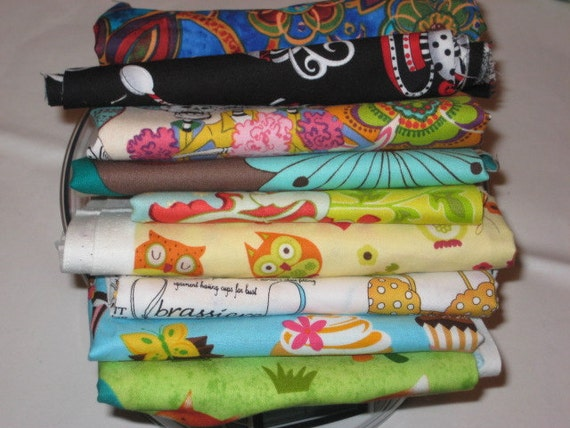 Designer Fabric Scrap Pack - 6 ounce pack
