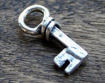 Key Charm Artisan Sterling Silver 001 /CK104