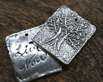 Tree of Life Charm Sterling Silver