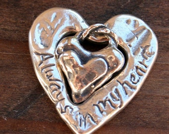 Mother Daughter Sterling silver Charms