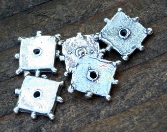 Spacers Sterling Square Dotted FIVE 005/SB3