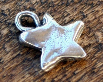 Star Charm Sterling Silver Artisan Handcrafted 001/CH420