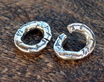 Link FIVE Artisan sterling silver open