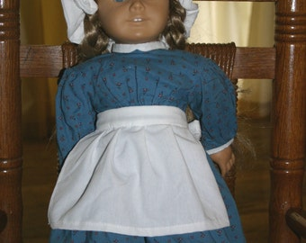 Doll Apron and Mop cap