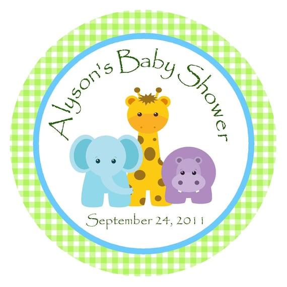 Zoo Animals Baby Shower
