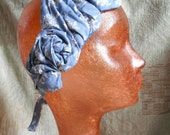 RESERVED for M.Bruss (Light Blue Draped Headband)
