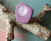Les Fleurs Fossiles  Dandelion ring