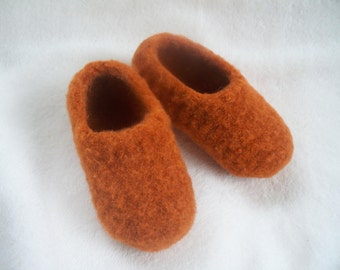 Children wool slippers, custom wool slippers, made to order wool shoes for kids, kids slippers