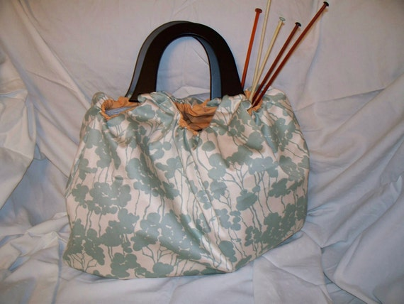 Big Mouth Knitting Bag or Purse