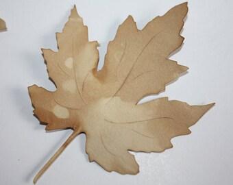 100 Wishing Tree Leaf Card stock Favor Tag