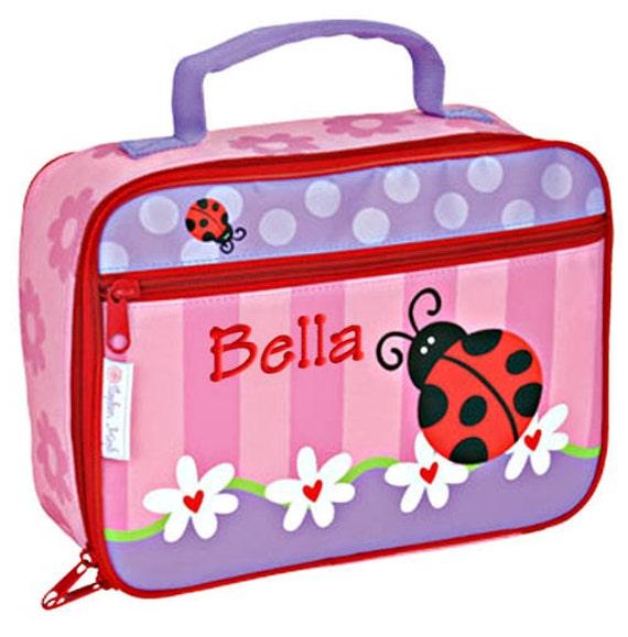 personalized lunch bag ladybug stephen joseph children by parsik93