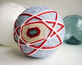 Atomic  Rattling Temari Ball