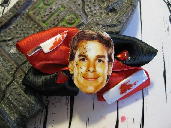 Dexter Morgan Serial Killer Scare Bow