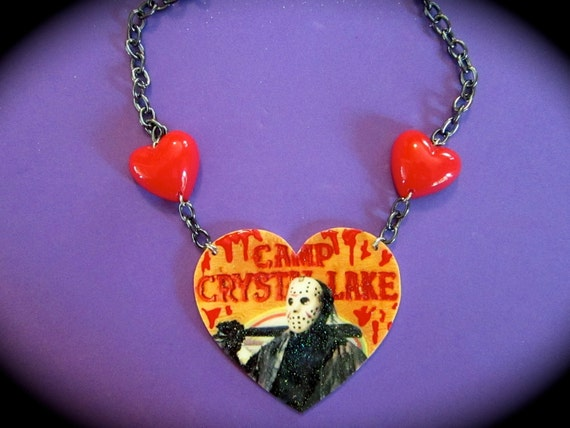 Jason Voorhees Camp Crystal Lake Necklace
