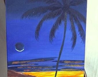 Twilight Palm