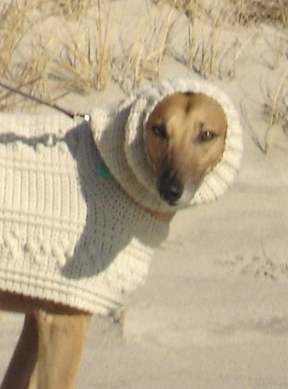 Knitting Pattern Greyhound Sweater : AerieDesigns GREYHOUND SWEATER Fisherman by handmade4hounds