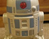 Vintage Star Wars RTD2 Ceramic Bank 1977 to 1989,Handmade