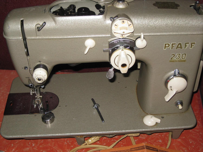 pfaff 230 sewing machine for sale