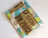 iPad Coffee Bag Case with Pocket