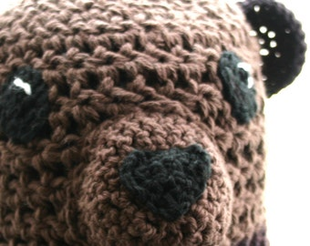 Bear Hat with Ear Flaps