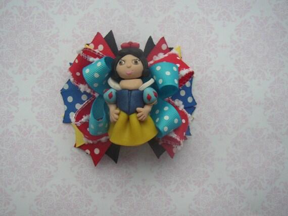 Snow White Princess Boutique Bow Hairbows