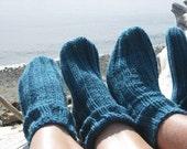 Tube Socks in Peacock  size Medium