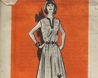UNCUT Anne Adams Sleeveless Dress Size 14 Bust 36