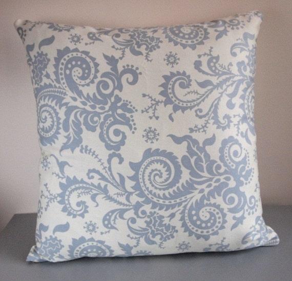 Eggshell  woodfern pillow cover 18 inch