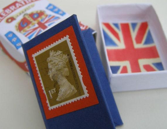 Commemorative Jubilee Book in a Matchbox Case