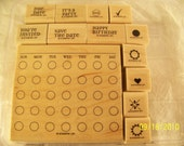 Stampin Up Set Mark The Date Two Step Stampin