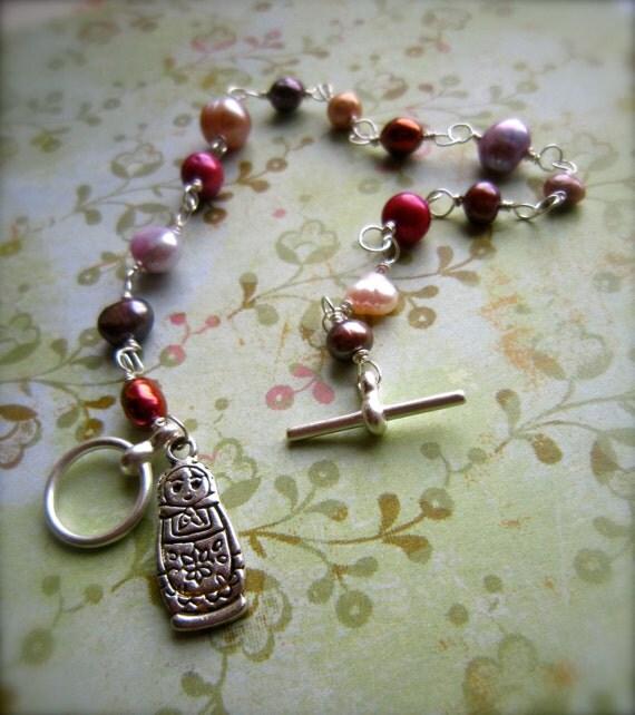 The Pink Lady of St. Petersburg Bracelet