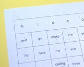 Sight Word Bingo Games - PreK and Kindergarten