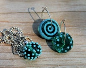 Teal Travels Necklace and Earrings