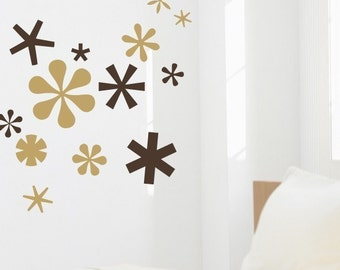 Asterisks - vinyl wall art decals graphic stickers