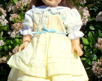 Handmade Doll Clothes Large Blossoms Fits any 18 inch Doll