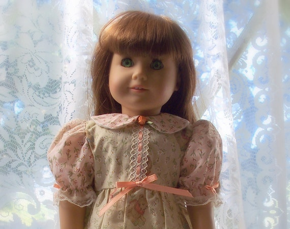 American Girl Doll Dress An Old Fashioned Dress fits American Girl doll or 18 inch doll