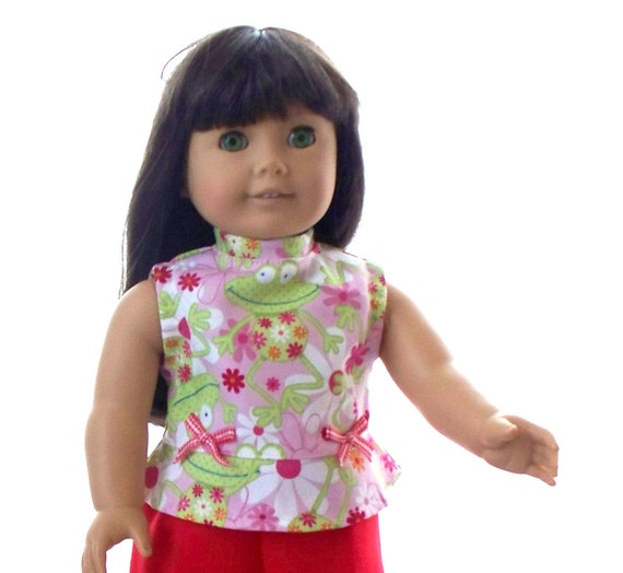 American Girl Doll Clothes Cropped Pants Suit fits 18 inch doll